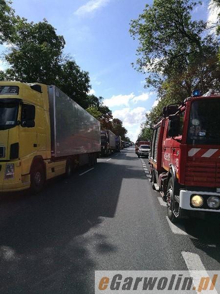 Wypadek W Gocławiu 10 Osób Rannych Dk 17 Zablokowana Garwolin